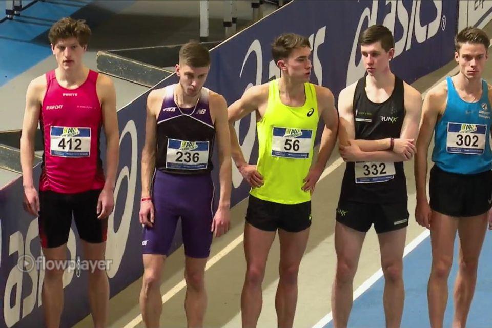 NK Indoor dag 1: Thomas Kwint vierde